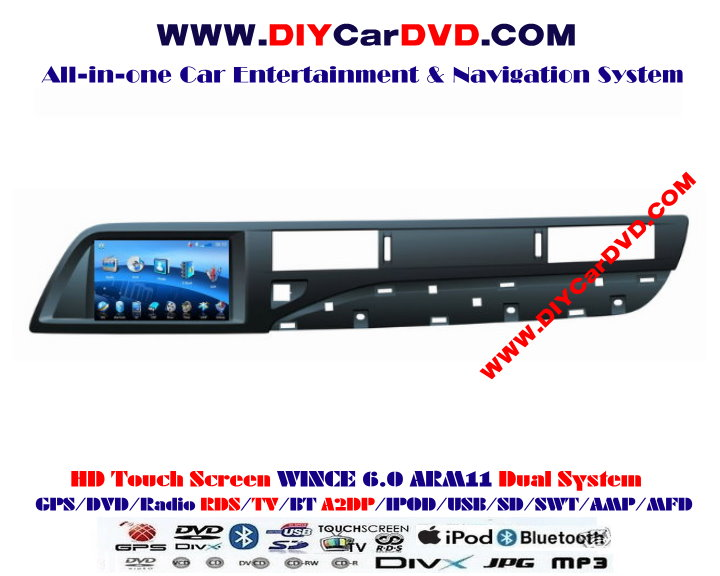 cheap citroen c5 2007 2012 car radio dvd player gps. Black Bedroom Furniture Sets. Home Design Ideas