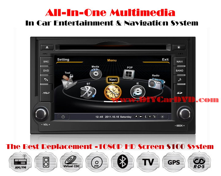 car audio system hyundai starex