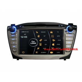 Wholesale Hyundai ix35 2010~2013 - Car Stereo DVD Player GPS Navigation Radio HD MFD Screen 2-Core System