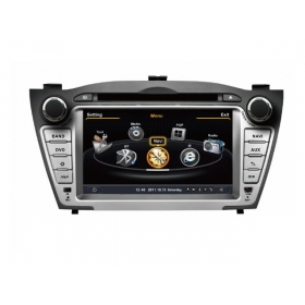 Wholesale Hyundai ix35 2010~2013 - Car GPS Navigation DVD Player Radio Stereo S100 Multimedia System