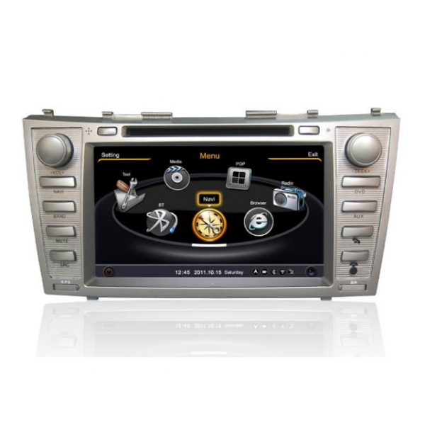 cheap toyota camry 2006 2011 car gps navigation dvd player radio stereo s100 multimedia system. Black Bedroom Furniture Sets. Home Design Ideas