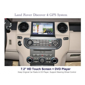 Wholesale Land Rover Discovery 4 2009~2014 - Car DVD Player GPS Navigation WINCE 6.0 System