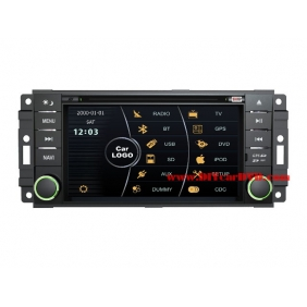 Wholesale JEEP Wrangler 2007~2011 - Car Stereo DVD Player GPS Navigation Radio HD MFD Screen 2-Core System