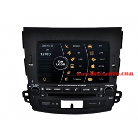 Wholesale Mitsubishi Outlander 2006~2012 - Car Stereo DVD Player GPS Navigation Radio HD MFD Screen 2-Core System