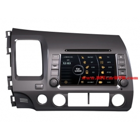 Wholesale Honda CIVIC 2006~2011 - Car Stereo DVD Player GPS Navigation Radio HD MFD Screen 2-Core System