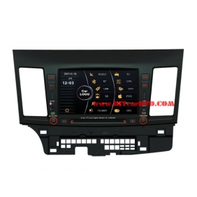 Wholesale Mitsubishi Lancer Evolution 2007~2012 - Car Stereo DVD Player GPS Navigation Radio HD MFD Screen 2-Core System