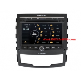 Wholesale SsangYong Actyon 2011~2013 - Car Stereo DVD Player GPS Navigation Radio HD MFD Screen 2-Core System