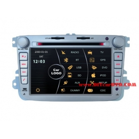 Wholesale VW Lavida 2006~2010 - Car Stereo DVD Player GPS Navigation Radio HD MFD Screen 2-Core System