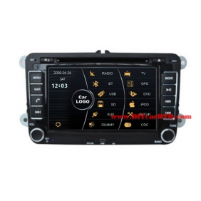 Wholesale Skoda Fabia MK2 2007~2013 - Car Stereo DVD Player GPS Navigation Radio HD MFD Screen 2-Core System