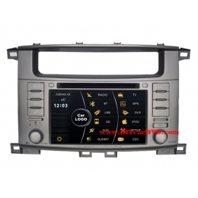 Wholesale Toyota Land Cruiser LC 100 1998~2007 - Car Stereo DVD Player GPS Navigation Radio HD MFD Screen 2-Core System