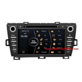 Wholesale Toyota Prius 2009~2012 - Car Stereo DVD Player GPS Navigation Radio HD MFD Screen 2-Core System
