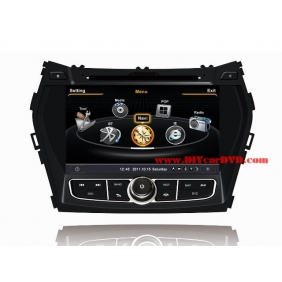 Wholesale Hyundai ix45 2013~2014 - Car GPS Navigation DVD Player Radio Stereo S100 Multimedia System