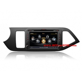 Wholesale KIA Picanto 2012~2014 - Car GPS Navigation DVD Player Radio Stereo S100 Multimedia System
