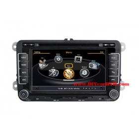 Wholesale VW Golf Wagon 2010~2012 - Car GPS Navigation DVD Player Radio Stereo S100 Multimedia System