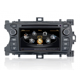 Wholesale Toyota Echo 2012~2013 - Car GPS Navigation DVD Player Radio Stereo S100 Multimedia System