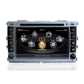 Wholesale KIA Shuma 2008~2012 - Car GPS Navigation DVD Player Radio Stereo S100 Multimedia System