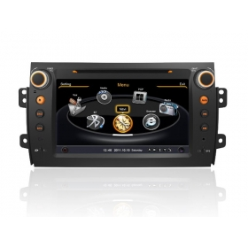 Wholesale FIAT Sedici 2005~2013 - Car GPS Navigation DVD Player Radio Stereo S100 Multimedia System