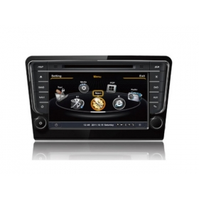 Wholesale SKODA Rapid 2013~2014 - Car GPS Navigation DVD Player Radio Stereo S100 Multimedia System