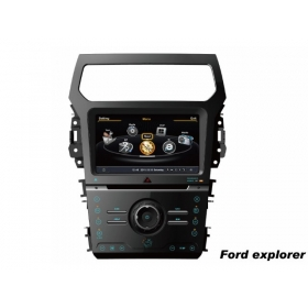 Wholesale Ford Explorer 2011~2014 - Car GPS Navigation DVD Player Radio Stereo S100 Multimedia System