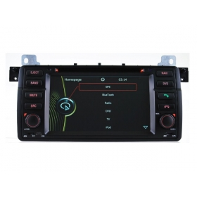 Wholesale BMW 3 E46 1998~2006 - Car Stereo Radio DVD GPS Navigation 1080P HD Screen System (CAN BUS/ 6 CDC)