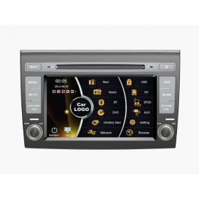 Wholesale FIAT Bravo 2007~2013 - Car Stereo DVD Player GPS Navigation Radio HD MFD Screen 4-Core System