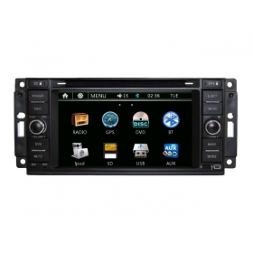 Wholesale Dodge Caravan 2008~2011 - Car Radio DVD Player GPS Navigation Advanced A5 System