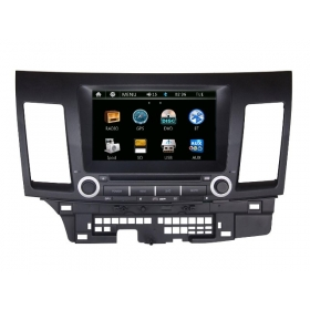 Wholesale Mitsubishi Lancer Evolution 2007~2012 - Car Radio DVD Player GPS Navigation Advanced A5 System