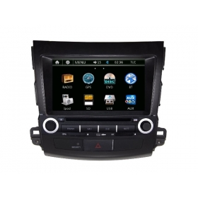 Wholesale Mitsubishi Outlander 2006~2012 - Car Radio DVD Player GPS Navigation Advanced A5 System