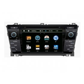 Wholesale Toyota Corolla E160 E170 2012~2014 - Car Radio DVD Player GPS Navigation Advanced A5 System