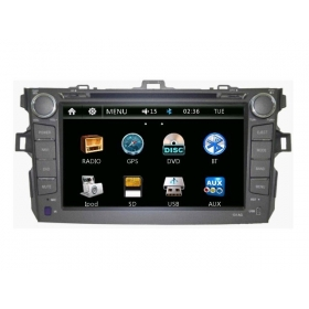 Wholesale Toyota Corolla Axio 2006~2013 - Car Radio DVD Player GPS Navigation Advanced A5 System