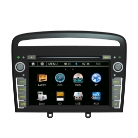 Wholesale Peugeot 408 2013~2014 - Car Radio DVD Player GPS Navigation Advanced A5 System