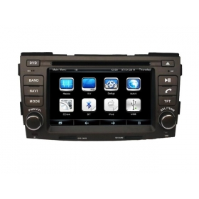 Wholesale Hyundai Sonata NFC 2009~2010 - Car Radio TV DVD GPS NAVI Audio & Video System
