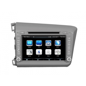 Wholesale Honda CIVIC 2012~2013 - Car Radio TV DVD GPS NAVI Audio & Video System
