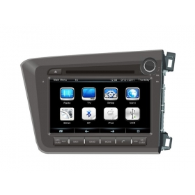 Wholesale Honda CIVIC (R.H.D) 2012~2013 - Car Radio TV DVD GPS NAVI Audio & Video System