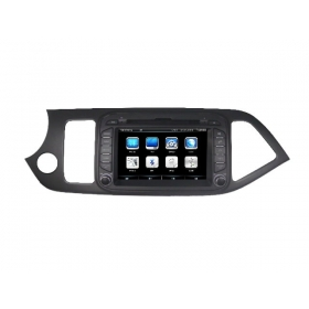 Wholesale KIA Picanto 2012~2014 - Car Radio TV DVD GPS NAVI Audio & Video System