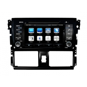 Wholesale Toyota Yaris Sedan 2013~2014 - Car Radio TV DVD GPS NAVI Audio & Video System