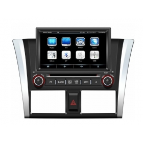 Wholesale Toyota Yaris Sedan 2013~2014 - 8 Inch Screen Car Radio TV DVD GPS NAVI Audio & Video System