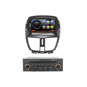 Wholesale Peugeot 206+ 2010~2012- Car DVD Player GPS Navigation WINCE 6.0 System