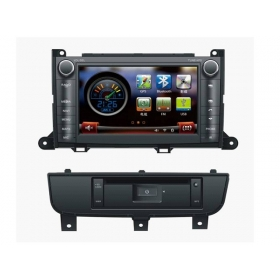 Wholesale Toyota Sienna 2010~2013 - Car DVD Player GPS Navigation WINCE 6.0 System
