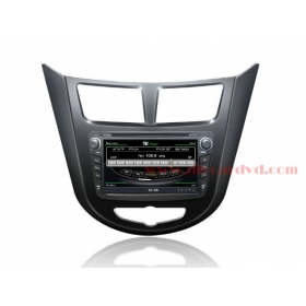 Wholesale Hyundai Accent 2011~2013 - Car GPS Navigation DVD Player Radio Stereo S100 Multimedia System
