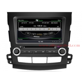 Wholesale Mitsubishi Outlander 2006~2012 - Car GPS Navigation DVD Player Radio Stereo S100 Multimedia System