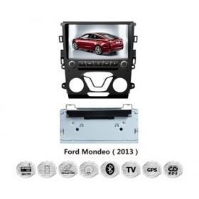 Wholesale Ford Mondeo 2013~2014 - Car GPS Navigation DVD Player Radio Stereo S100 Multimedia System (2 A/C)
