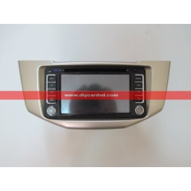 Wholesale TOYOTA Harrier 2003~2013 - Car Radio Stereo DVD GPS Navigation System