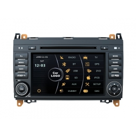 Wholesale Mercedes Benz A Class W169 2004~2012 - Car DVD Player GPS Navigation Radio Stereo HD MFD Screen 2-Core System