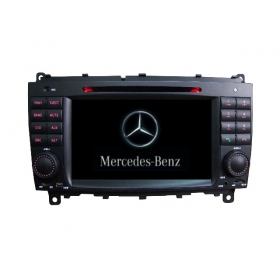 Wholesale Mercedes Benz CLK-Class C209 A209 2002~2009 - Car Stereo Radio DVD GPS Navigation 1080P HD Screen System