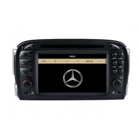 Wholesale Mercedes Benz SL55 AMG 2001~2008 - Car Stereo DVD GPS Navigation 1080P HD Screen System
