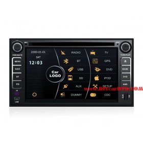 Wholesale KIA EuroStar 2008~2011 - Car Stereo DVD Player GPS Navigation Radio HD MFD Screen 2-Core System