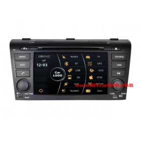 Wholesale Mazda 3 2003~2009 - Car Stereo DVD Player GPS Navigation Radio HD MFD Screen 2-Core System