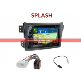 Wholesale Suzuki Splash - Car Radio Stereo DVD GPS NAVI + Map + Digital TV + Rear Camera + Parking Radar Multimedia System