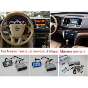 Wholesale For NISSAN Teana J32 / Maxima 2008~2013 - Car DVD Player GPS NAVI Navigation System + BT USB AUX HD Touch Screen Multimedia